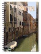 Venice Laundry Day Spiral Notebook