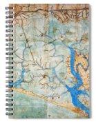 Venice: Map, 1546 Spiral Notebook
