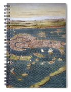 Venice: Map, 16th Century Spiral Notebook