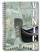 Venice Montage 2 Spiral Notebook
