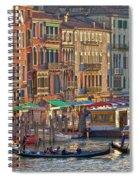 Venice Palazzi At Sundown Spiral Notebook