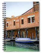 Venice Reflections - Italy Spiral Notebook