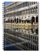 Venice Italy - St Mark's Square Symmetry Spiral Notebook
