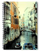 Venice Street Scene Spiral Notebook