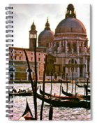 Venice The Grand Canal Spiral Notebook