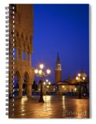 Venice Twilight Spiral Notebook