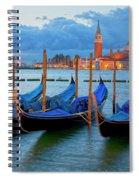 Venice View To San Giorgio Maggiore Spiral Notebook