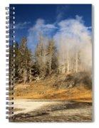 Vent Geyser Spiral Notebook
