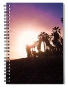 Ventura Beach Sunset Spiral Notebook