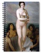 Venus Anadyomene Spiral Notebook
