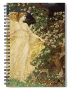 Venus And Anchises Spiral Notebook