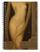 Venus And Cupid Spiral Notebook