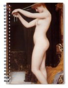 Venus Binding Her Hair Spiral Notebook