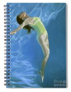Venus Goes H2o  Spiral Notebook