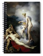 Venus Healing Aeneas Spiral Notebook