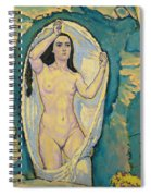 Venus In The Grotto Spiral Notebook