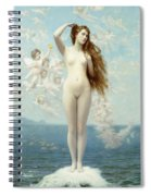Venus Rising The Star Spiral Notebook