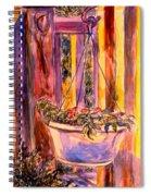 Veranda Still Life Spiral Notebook