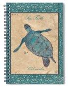 Verde Mare 4 Spiral Notebook