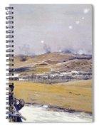 Verdun, 1916 Oil On Canvas Spiral Notebook