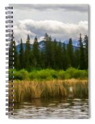 Vermilion Lakes Spiral Notebook