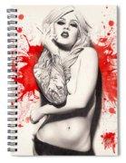 Vermillion Spiral Notebook