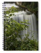 Vermillion River Falls 2 A Spiral Notebook