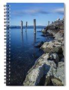Vermont Lake Champlain Sunrise Burlington Spiral Notebook