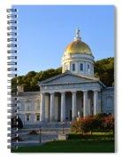 Vermont State House Spiral Notebook
