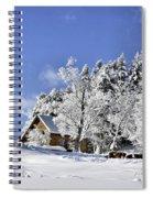 Vermont Winter Beauty Spiral Notebook