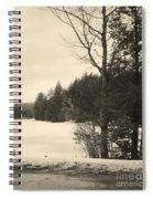Vermont Winterland Spiral Notebook