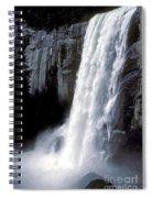 Vernal Falls Profile Spiral Notebook