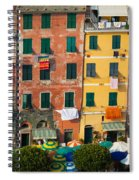 Vernazza Facades Spiral Notebook