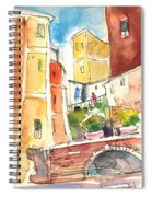 Vernazza In Italy 02 Spiral Notebook