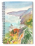 Vernazza In Italy 06 Spiral Notebook