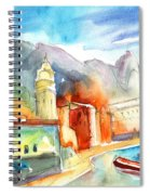 Vernazza In Italy 07 Spiral Notebook