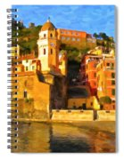 Vernazza Spiral Notebook