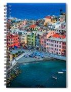 Vernazza Sera Spiral Notebook