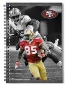 Vernon Davis 49ers Spiral Notebook