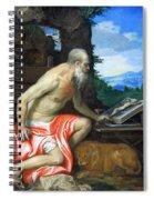 Veronese's Saint Jerome In The Wilderness Spiral Notebook