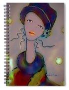 Veronique Spiral Notebook