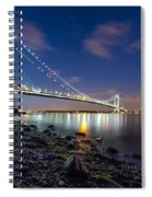 Verrazano-narrows Bridge  Spiral Notebook