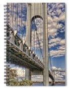 Verrazanowestpier Spiral Notebook