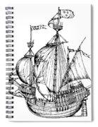Verrazzano's Ship Spiral Notebook