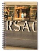 Versace Spiral Notebook