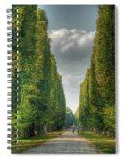 Versailles Promenade Spiral Notebook