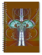 Vertebrae I Spiral Notebook