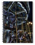 Vertical Carousel Spiral Notebook