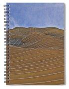 Vertical Dune - The Aqua Tower Spiral Notebook