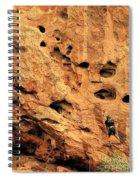 Vertical Exploration Spiral Notebook